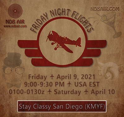 Friday Night Flights - KMYF